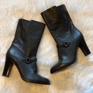 Banana Republic Women Boots Size 8 1/2 Dark Brown